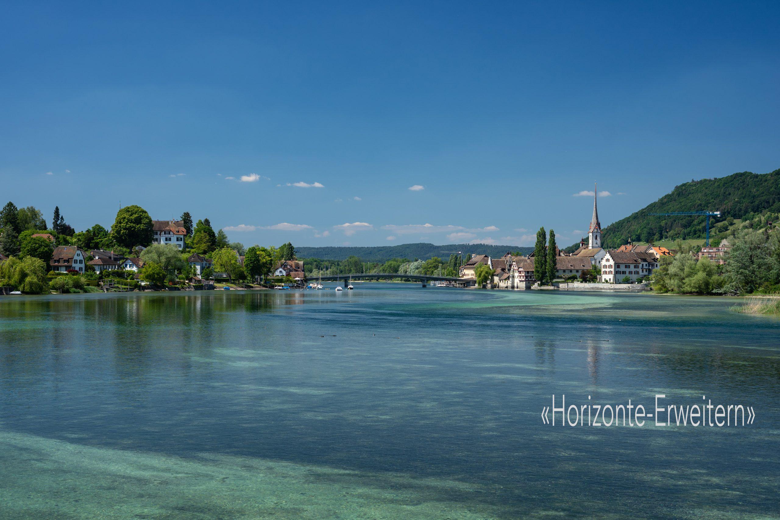 Das pittoreske Schweizer Städtchen Stein am Rhein